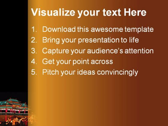 Lantern Festival PowerPoint Template 1110  Presentation Themes and Graphics Slide02