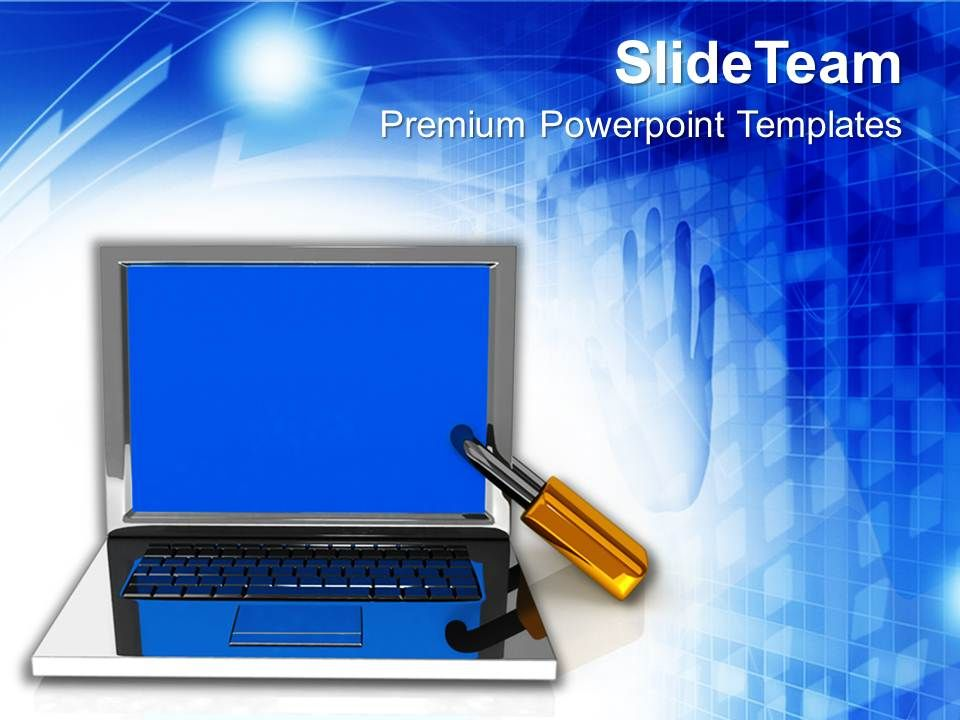 laptop_the_concept_of_information_security_powerpoint_templates_ppt_themes_and_graphics_Slide01