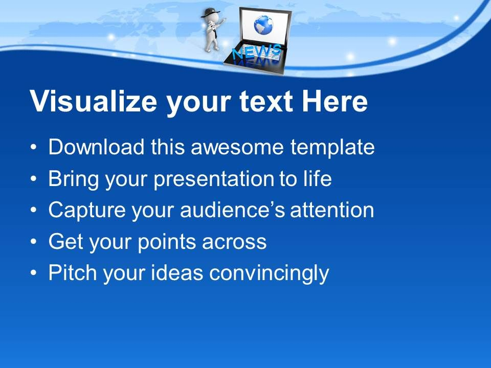 free powerpoint templates journalism images - powerpoint template, Modern powerpoint