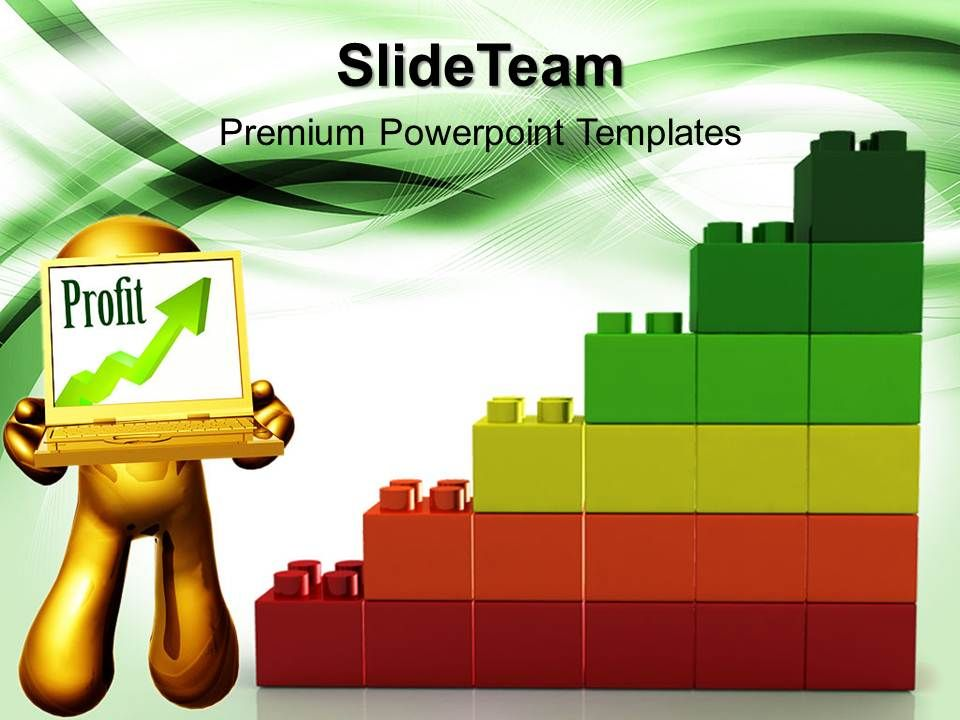 large building blocks templates lego profit graph business marketing