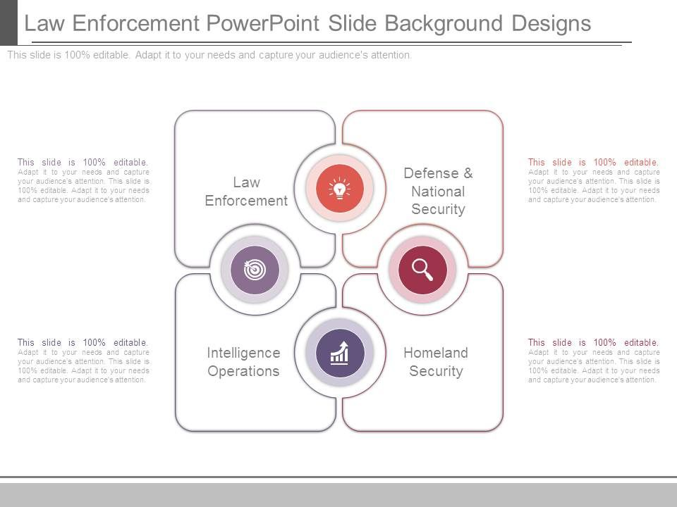 law enforcement powerpoint slide background designs | powerpoint, Modern powerpoint