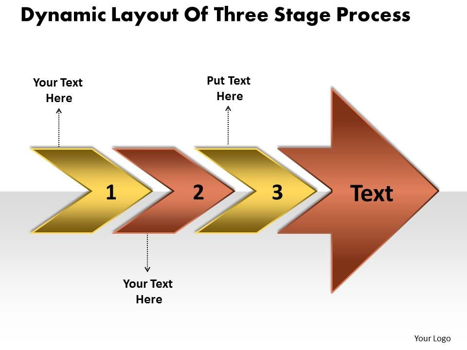 layout_of_three_stage_process_manufacturing_flow_chart_symbols_powerpoint_templates_Slide01