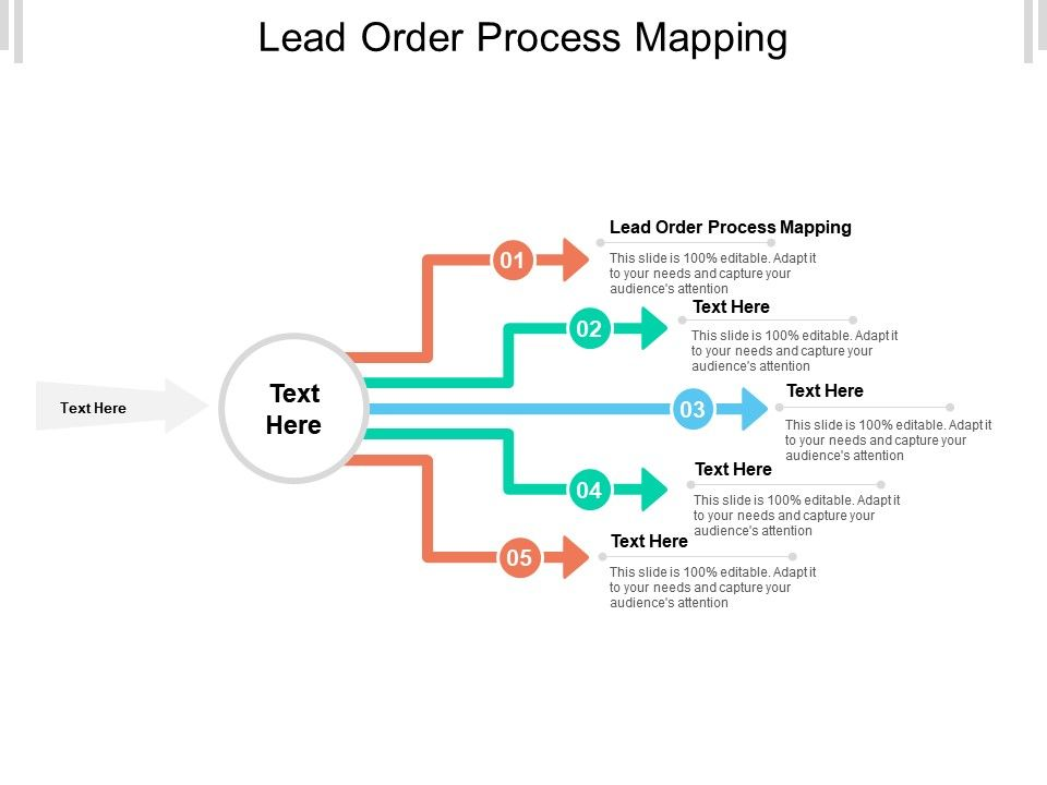 Lead Order Process Mapping Ppt Powerpoint Presentation Icon Format Cpb
