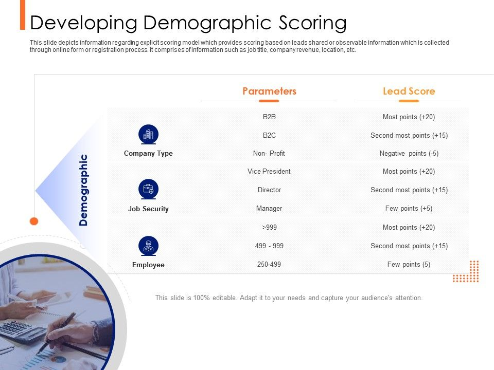 Lead Ranking Mechanism Developing Demographic Scoring Ppt Powerpoint Presentation Background