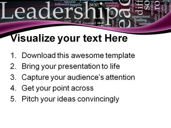 Leader03 Leadership PowerPoint Templates And PowerPoint Backgrounds 0611  Presentation Themes and Graphics Slide03