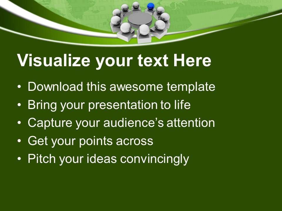 Leadership business meeting powerpoint templates ppt themes and