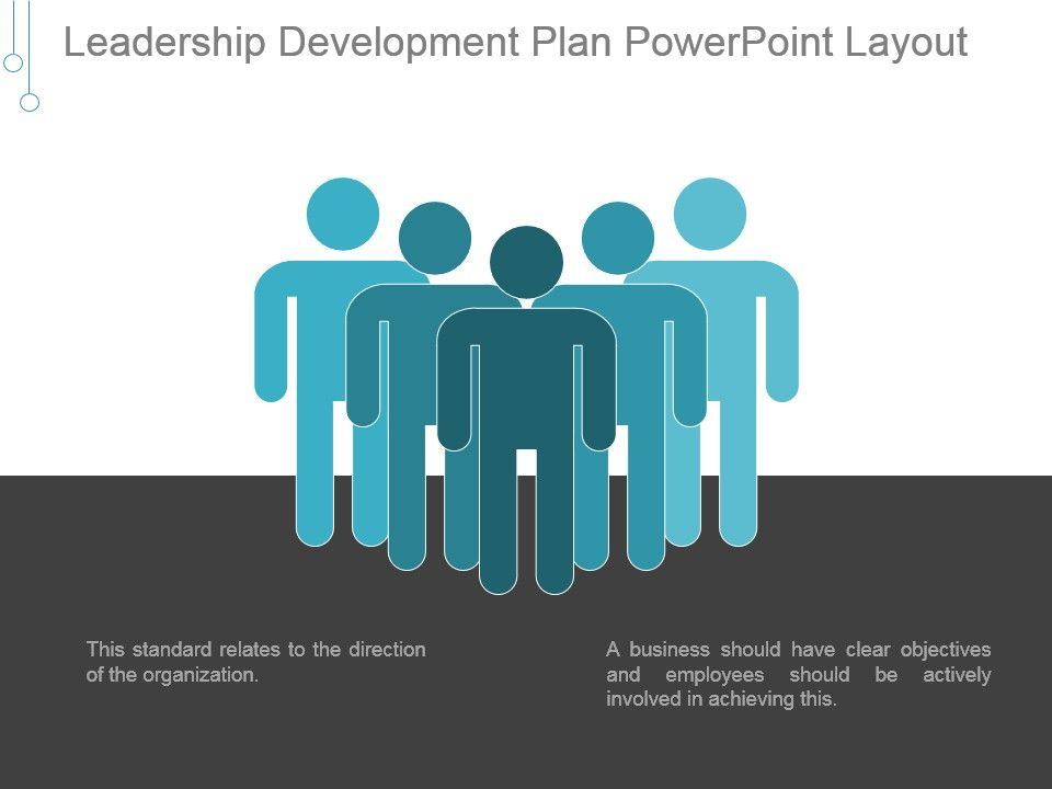 Leadership Development Plan Powerpoint Layout PowerPoint