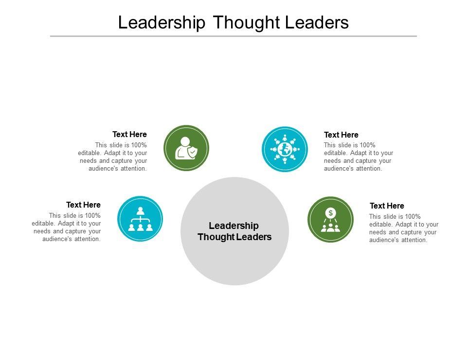Leadership Thought Leaders Ppt Powerpoint Presentation Slides Show Cpb