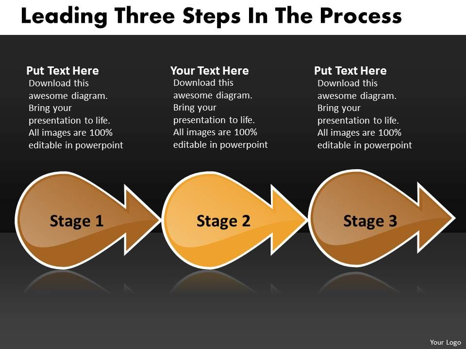 leading_three_stages_of_the_process_flow_document_powerpoint_slides_Slide01
