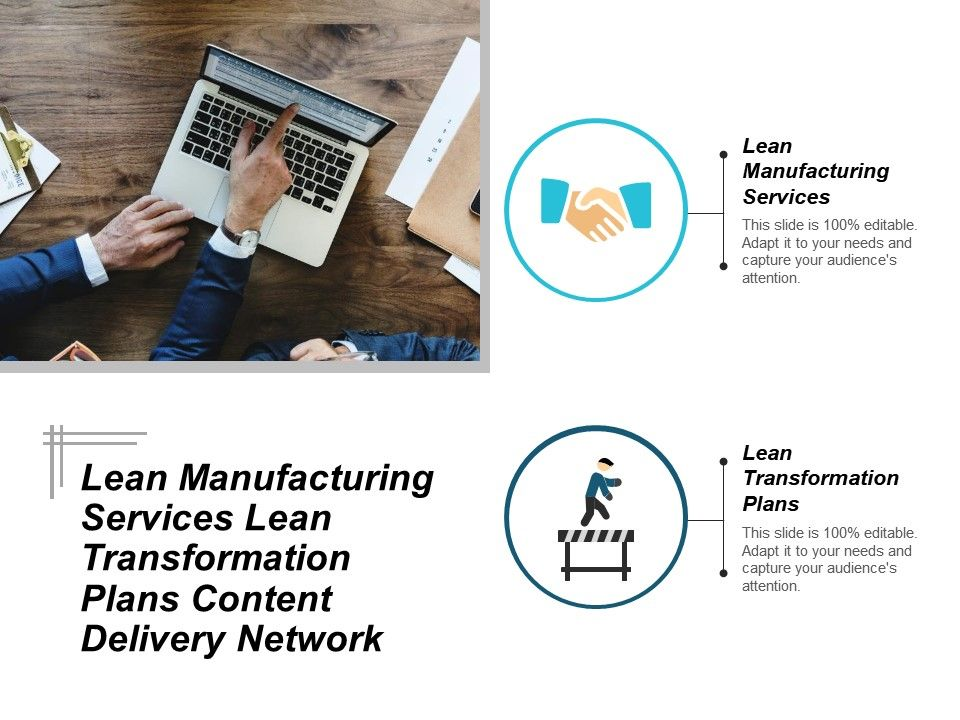lean_manufacturing_services_lean_transformation_plans_content_delivery_network_cpb_Slide01