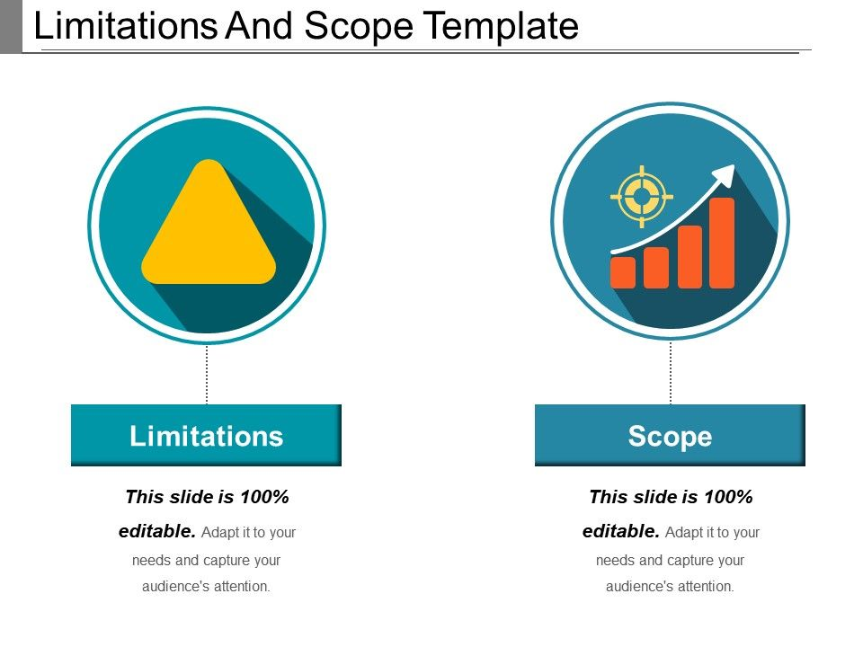 scope and limitation example