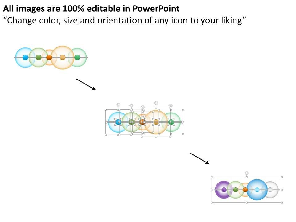 Linear Timeline Bubble Diagram Powerpoint Template Powerpoint Presentation Sample Example Of Ppt Presentation Presentation Background