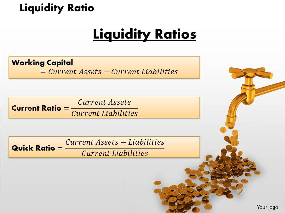 liquidity ratio powerpoint presentation slide template powerpoint