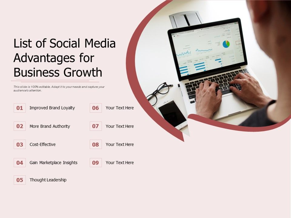 List Of Social Media Advantages For Business Growth