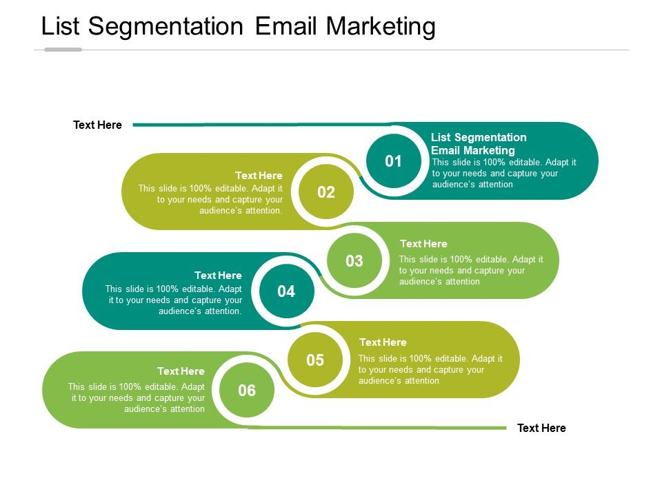 List Segmentation Email Marketing Ppt Powerpoint Presentation Outline Backgrounds Cpb