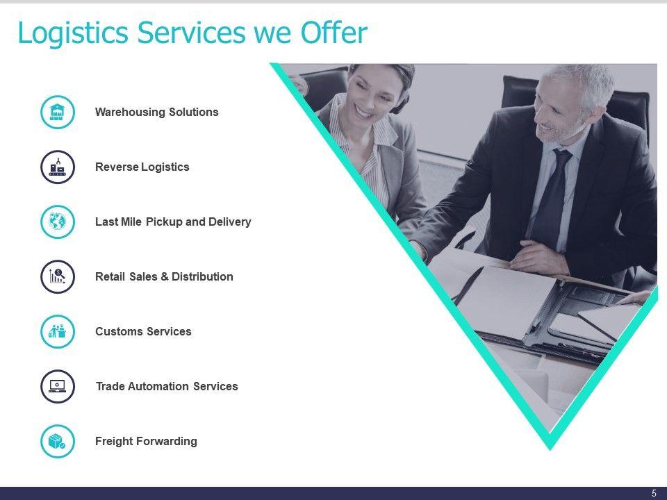 Logistics Service Proposal Template Powerpoint Presentation