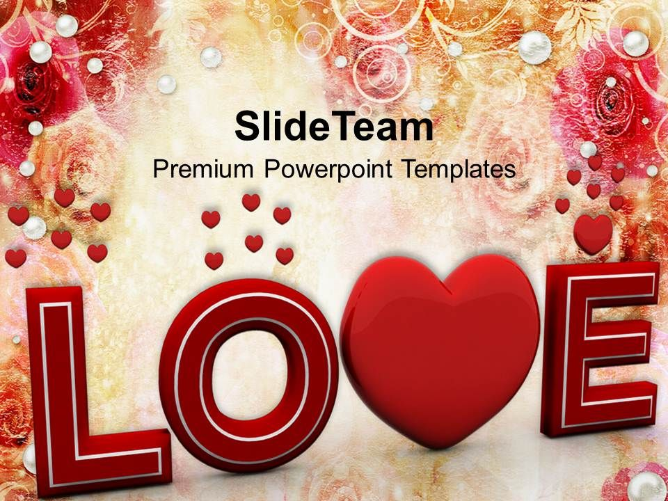 love is in the air wedding powerpoint templates ppt themes and