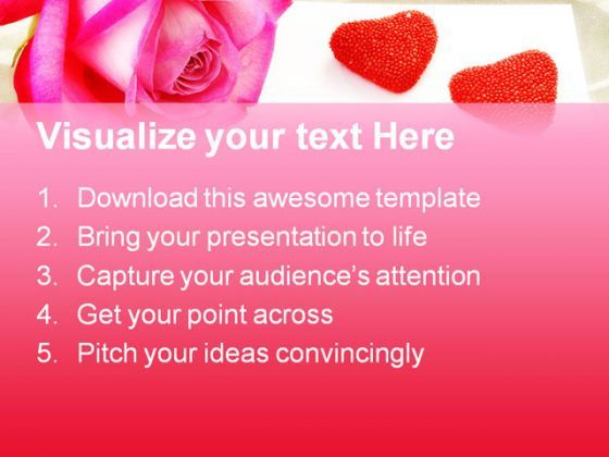Love Letter Rose Wedding PowerPoint Templates And PowerPoint – Templates for Love Letters
