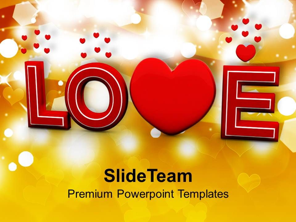 love valentines background powerpoint templates ppt themes