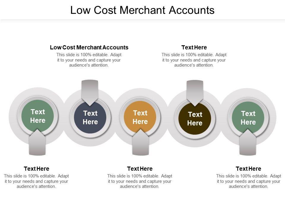 Low Cost Merchant Accounts Ppt Powerpoint Presentation Ideas