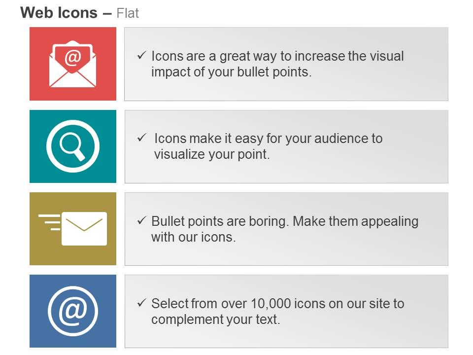 Mail Search Web Send Mail Ppt Icons Graphics Powerpoint
