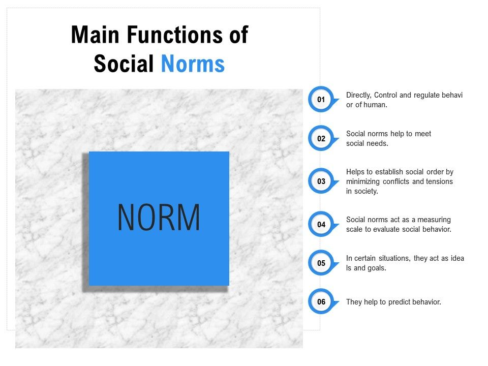 Main Functions Of Social Norms