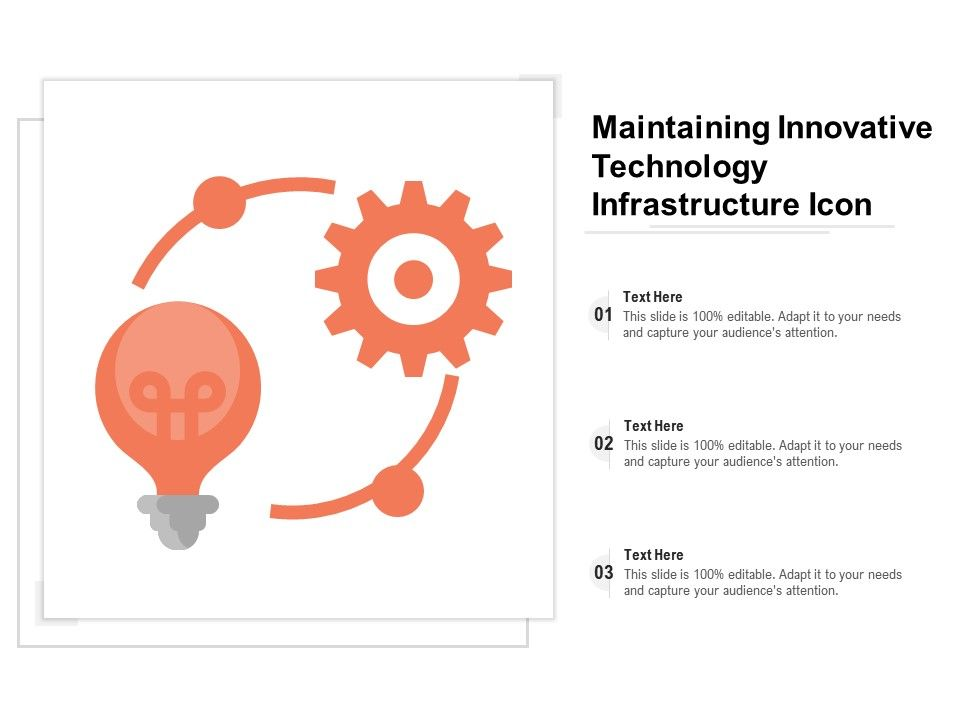 Maintaining Innovative Technology Infrastructure Icon