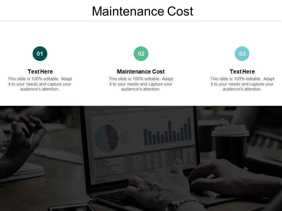 Maintenance Cost Ppt Powerpoint Presentation Styles