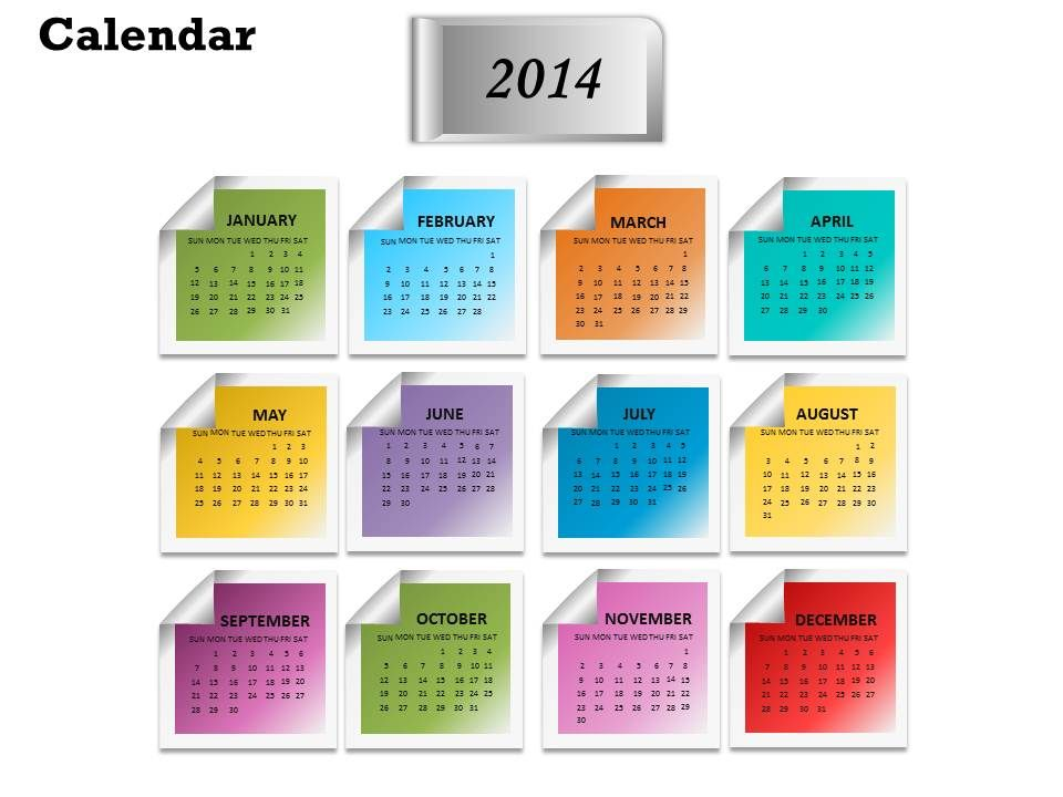 make_2014_calendar_the_best_business_year_template_and_powerpoint_slide_for_planning_Slide01