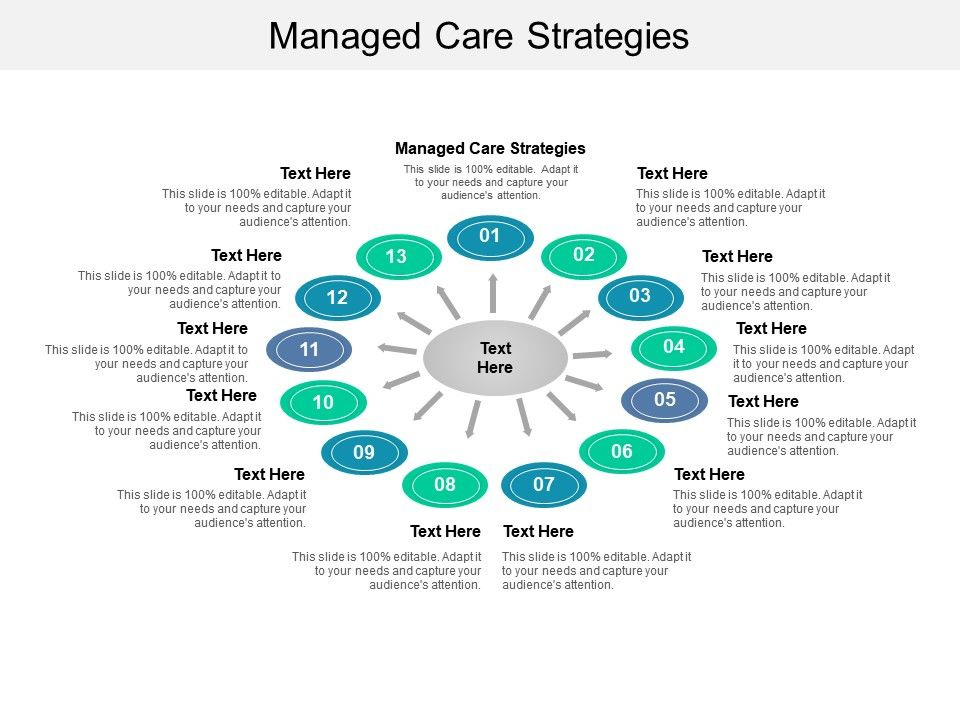 Managed Care Strategies Ppt Powerpoint Presentation Ideas Templates Cpb