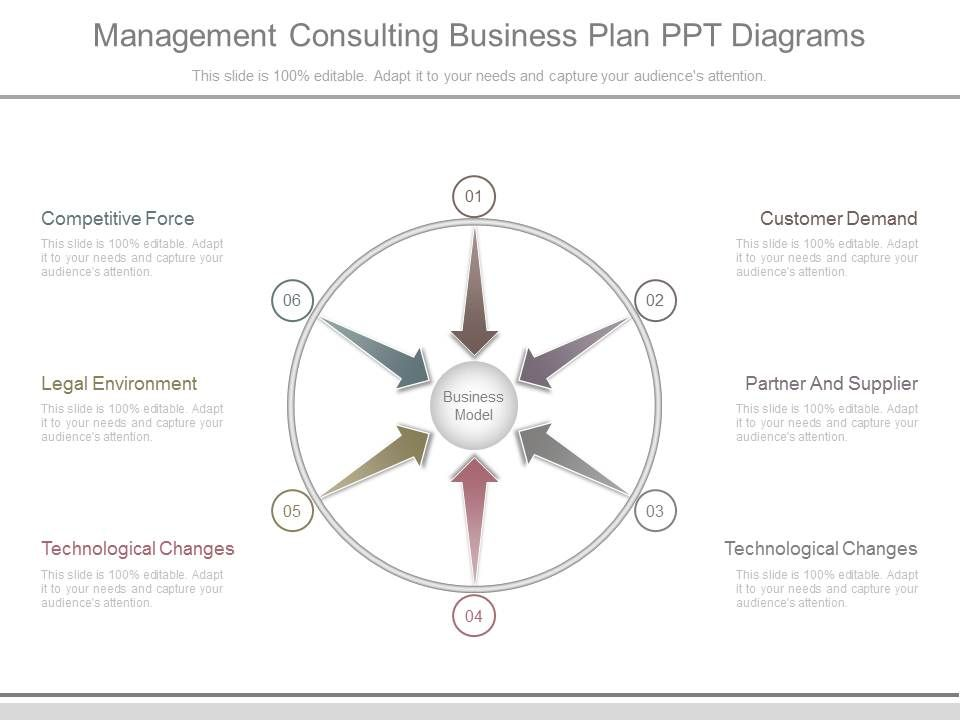 management consulting business plan ppt diagrams