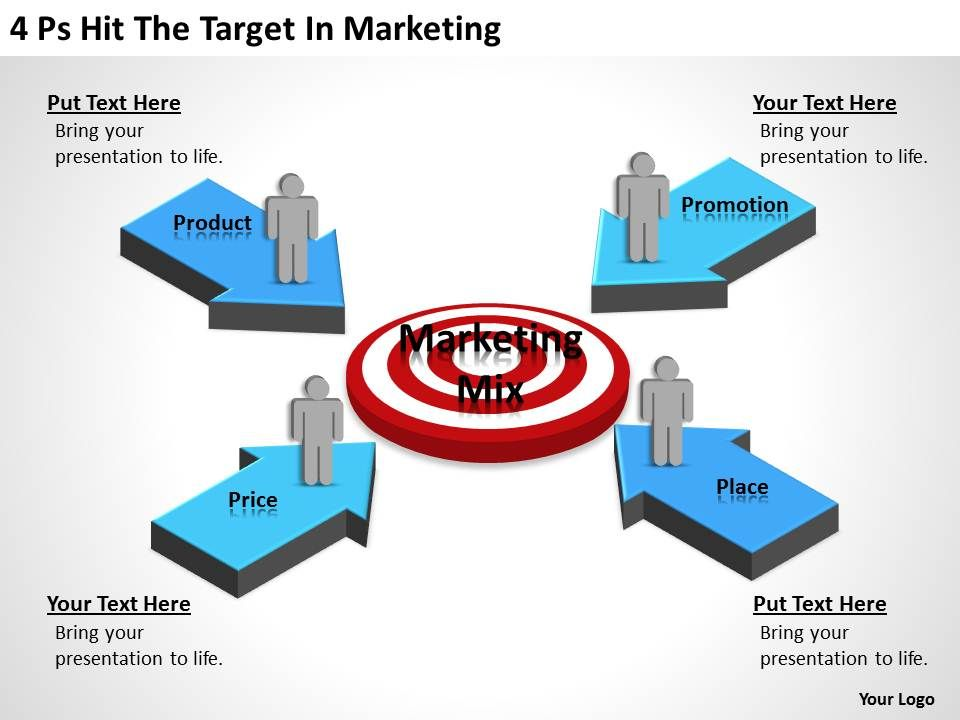 Management Consulting Hit The Target Marketing Powerpoint Templates