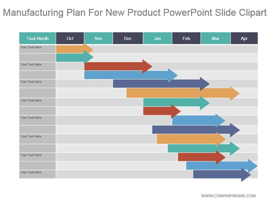 Manufacturing Plan For New Product Powerpoint Slide Clipart Slide01 Slide02