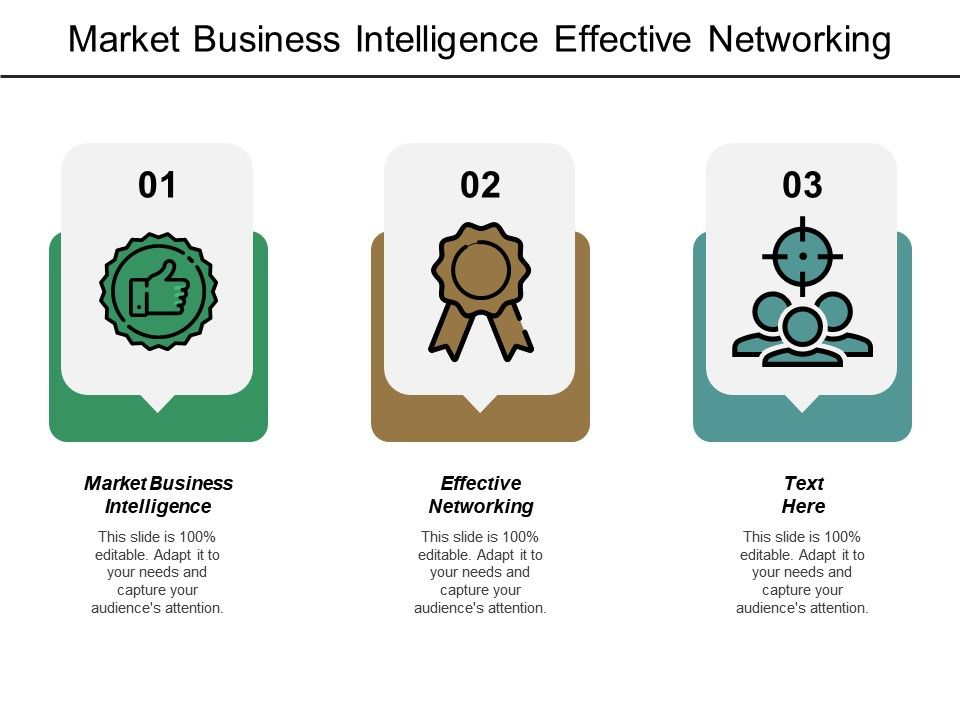 market business intelligence effective networking innovative
