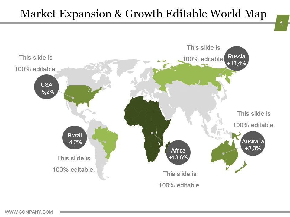 market_expansion_and_growth_editable_world_map_ppt_model_Slide01