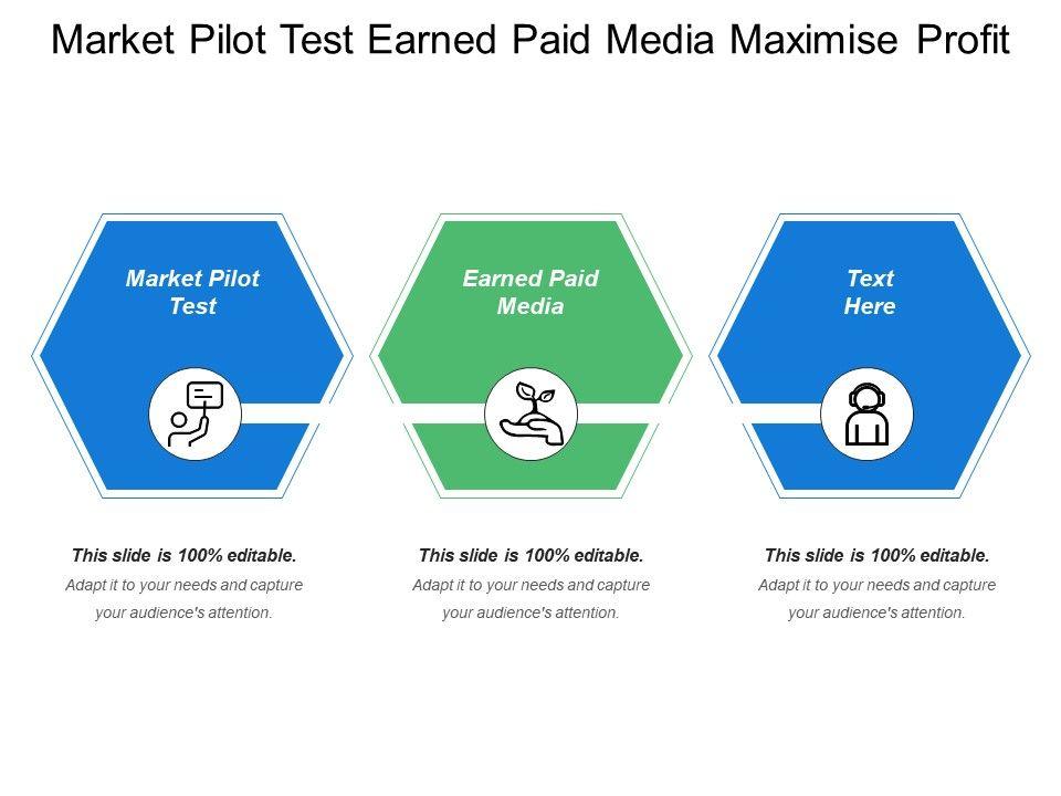 market_pilot_test_earned_paid_media_maximize_profit_Slide01