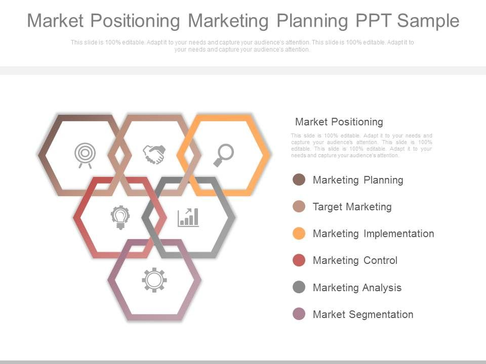 Market Positioning Marketing Planning Ppt Sample  Powerpoint