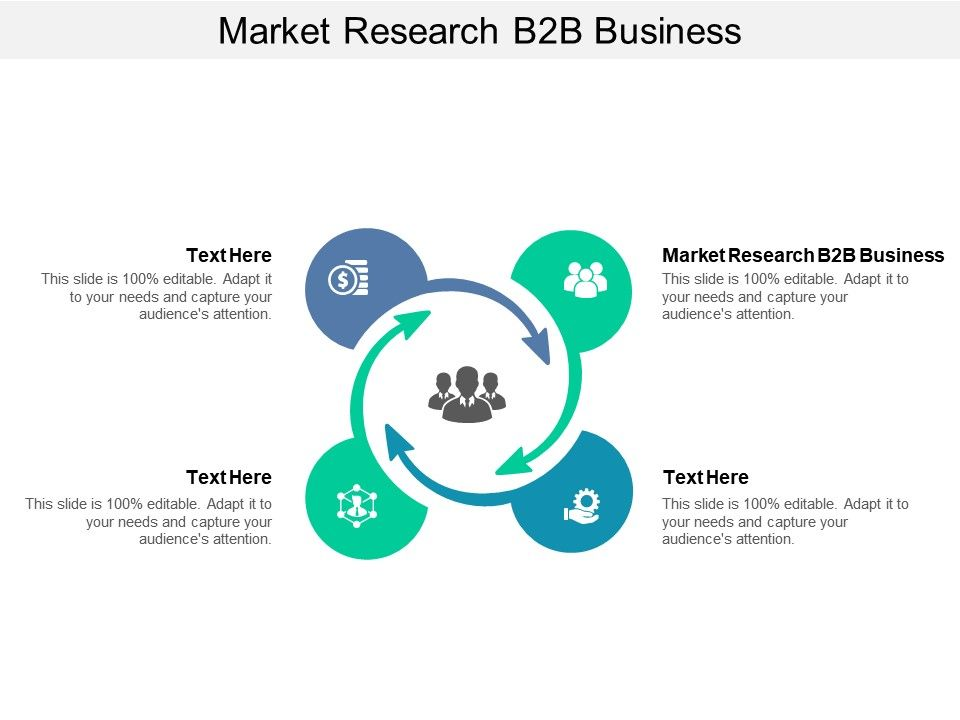 Market Research B2B Business Ppt Powerpoint Presentation Styles Icon Cpb