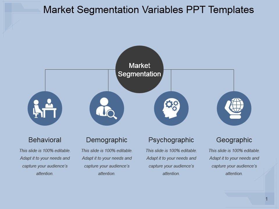 market segmentation variables ppt templates ppt images. Black Bedroom Furniture Sets. Home Design Ideas