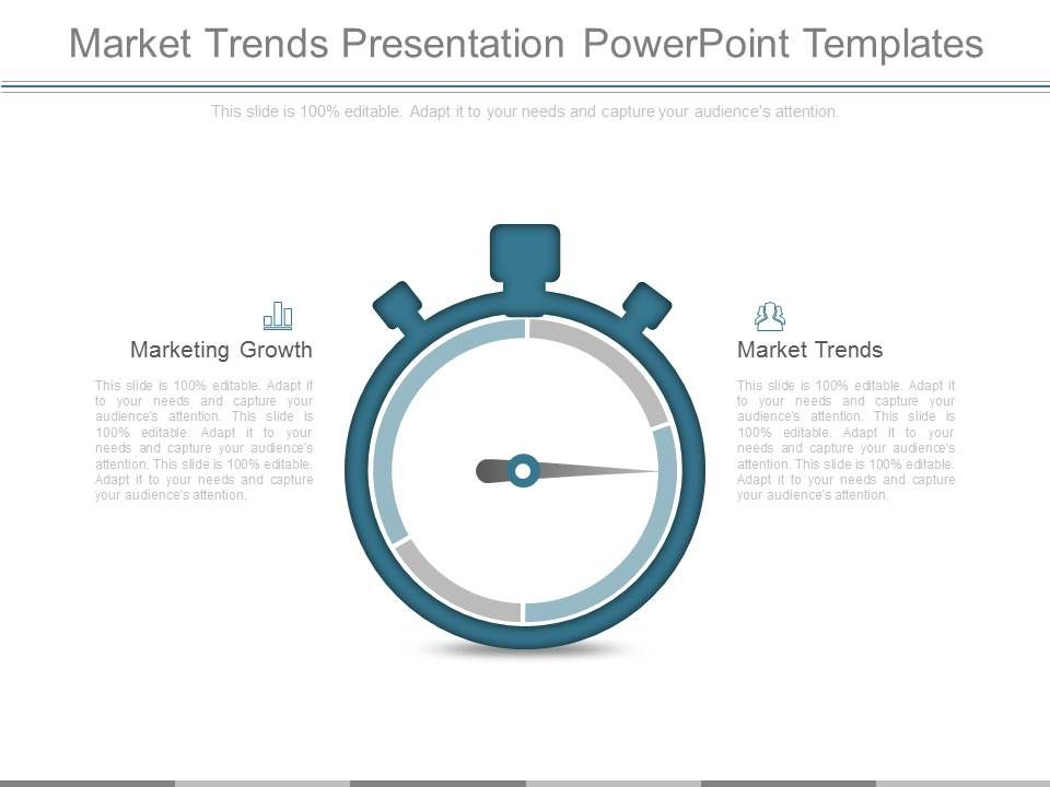 market trends presentation powerpoint templates powerpoint slide