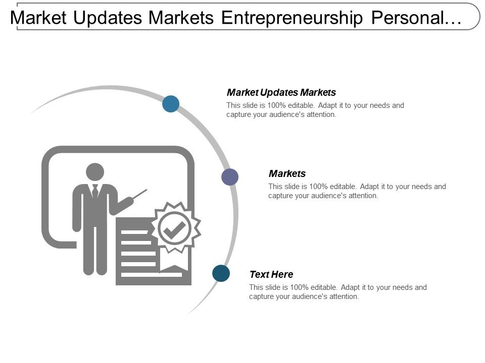 market_updates_markets_entrepreneurship_personal_products_analysis_cpb_Slide01