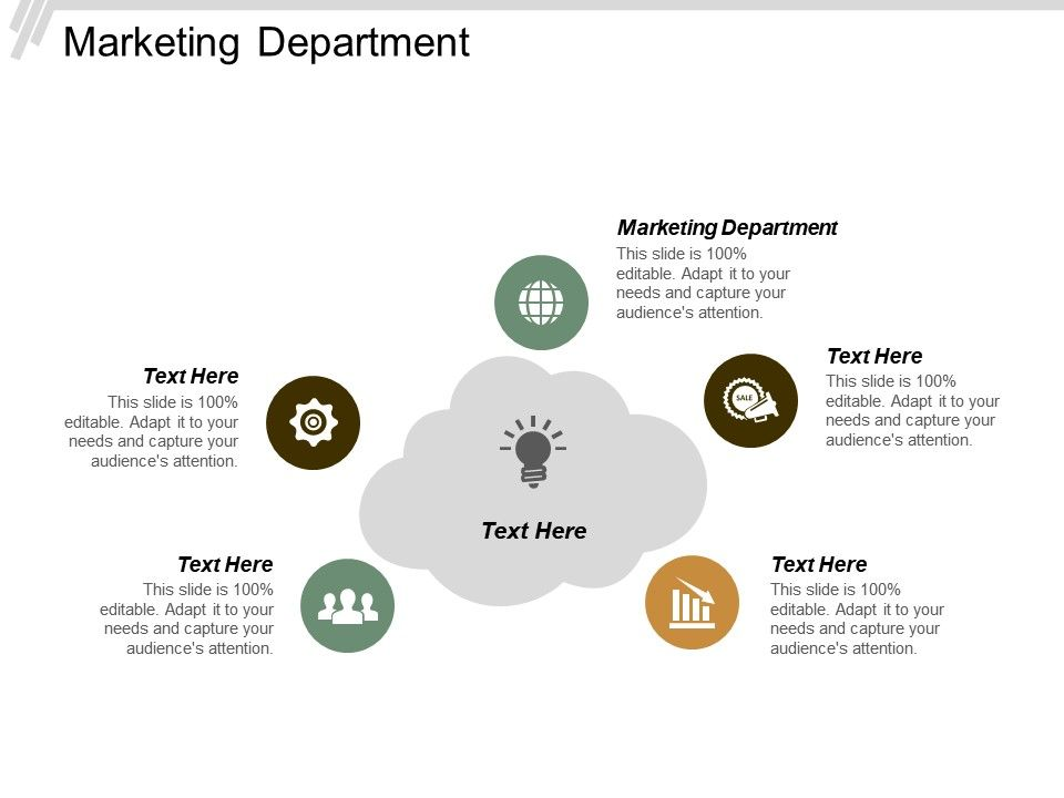 Marketing Department Ppt Powerpoint Presentation Infographic Template Templates Cpb