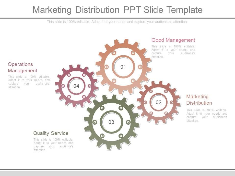 Marketing proposal template marketing distribution management.