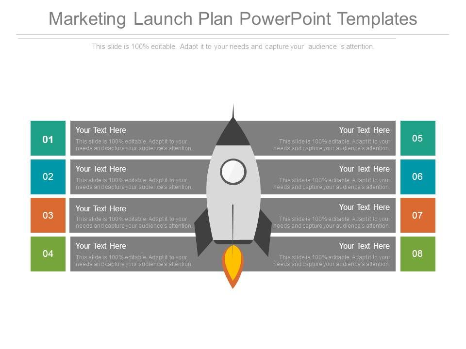 Marketing launch plan powerpoint templates presentation for Media launch plan template
