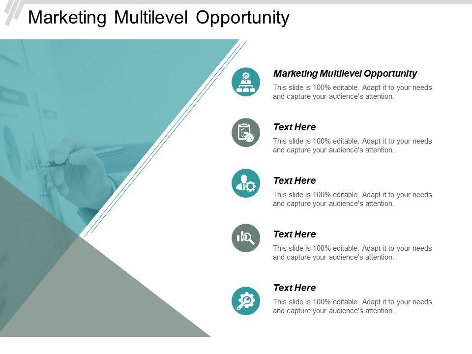 Marketing Multilevel Opportunity Ppt Powerpoint Presentation