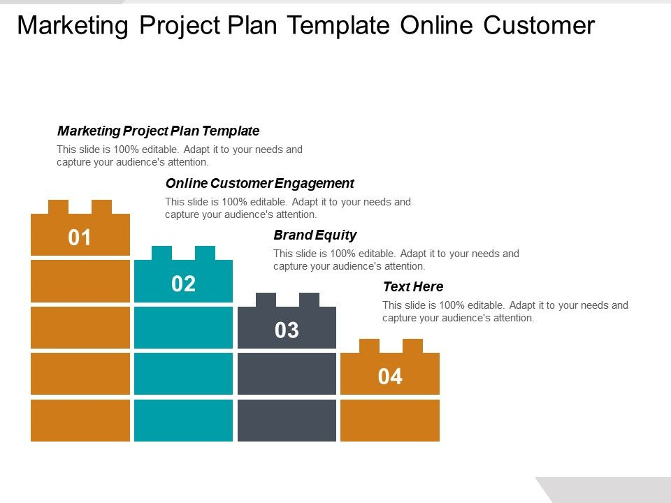 Marketing Project Plan Template Online Customer Engagement