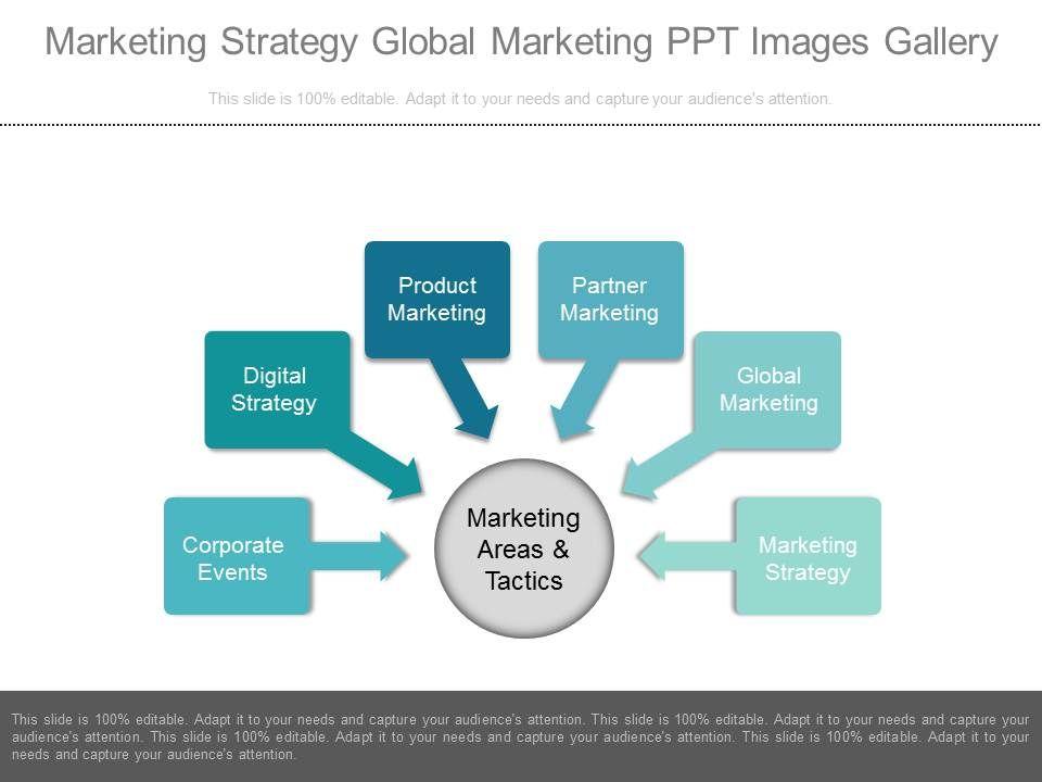 Style Linear Many Piece Powerpoint Presentation Diagram - Sample marketing presentation ppt