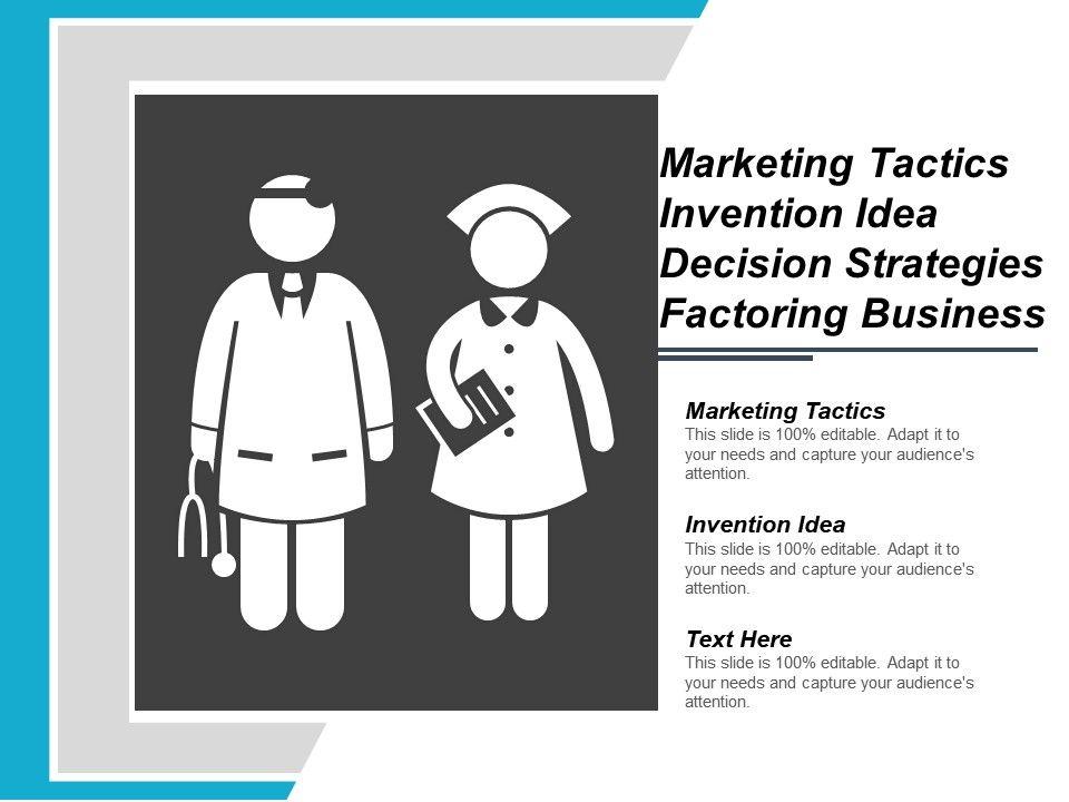 marketing_tactics_invention_idea_decision_strategies_factoring_business_Slide01