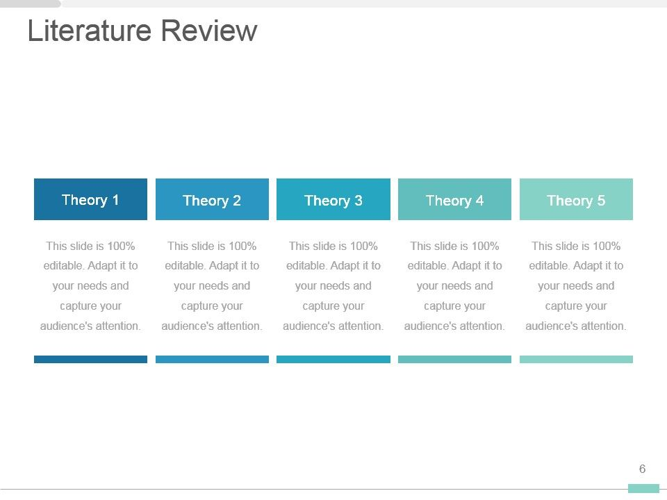Master's Thesis Google Slides and PowerPoint Template