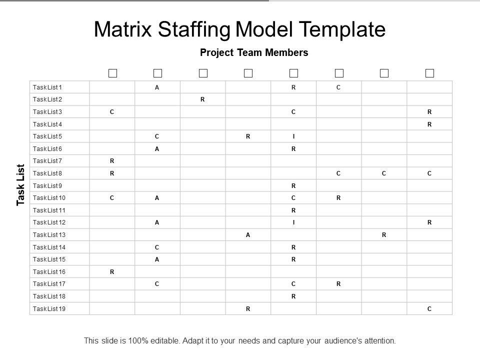 Matrix Staffing Model Template Slide01 Slide02 Slide03